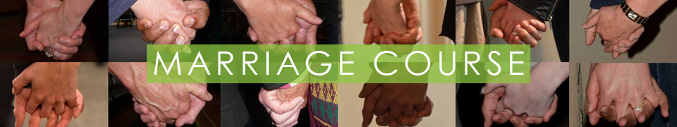 Marriage Course hands
